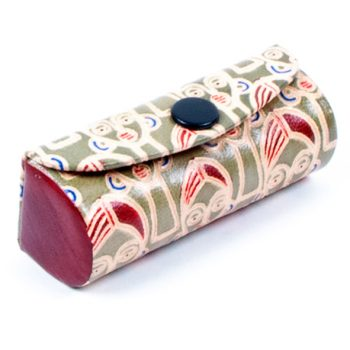 Face design leather lipstick case | TradeAid
