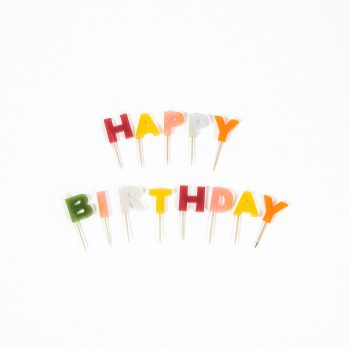 Happy birthday candles | TradeAid