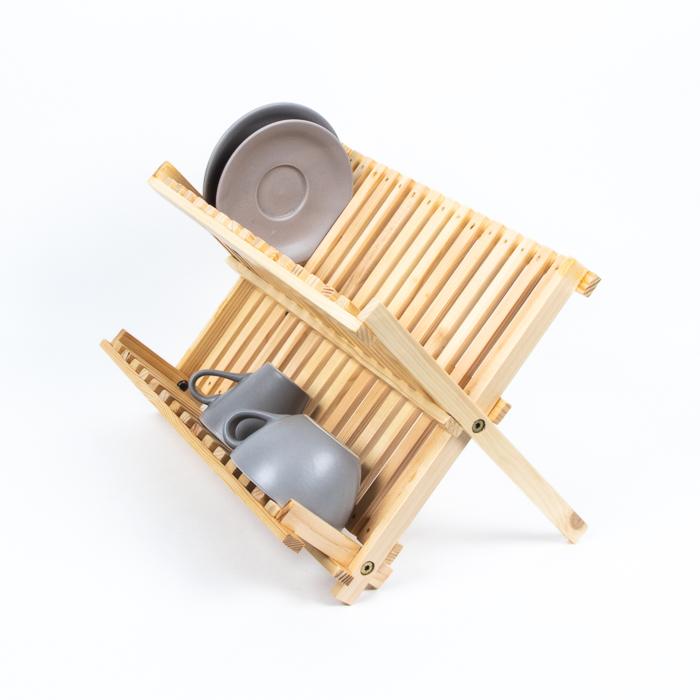 Wooden draining rack   TradeAid