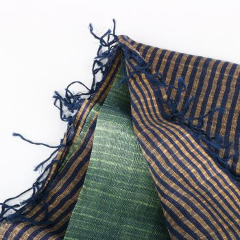 Multicoloured linen and silk scarf | Gallery 1 | TradeAid