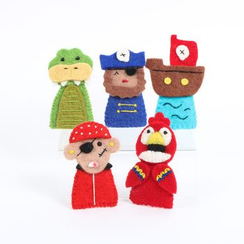 Pirate finger puppets | TradeAid