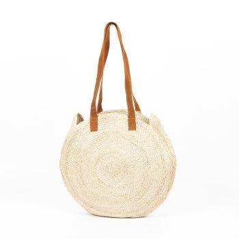 Natural circular day bag | TradeAid