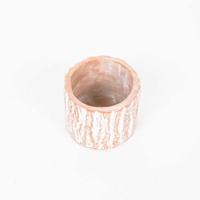 Tree trunk terracotta planter | Gallery 2 | TradeAid