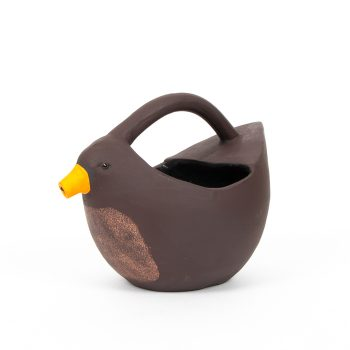 Bird terracotta watering can | TradeAid