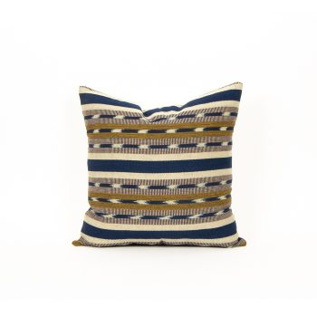 Green and blue cotton cushion cover | Gallery 1 | TradeAid