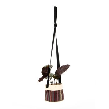 Multi coloured cotton hanging planter | TradeAid