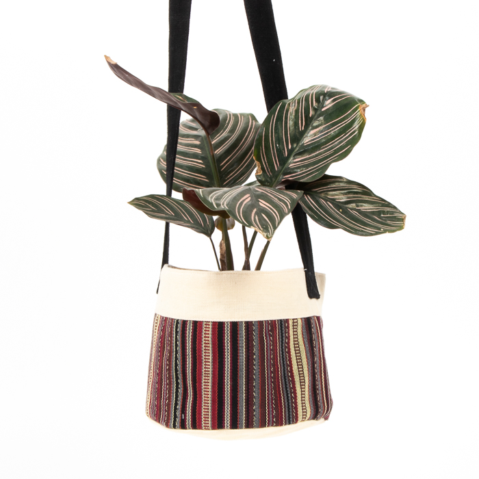 Multi coloured cotton hanging planter | Gallery 2 | TradeAid