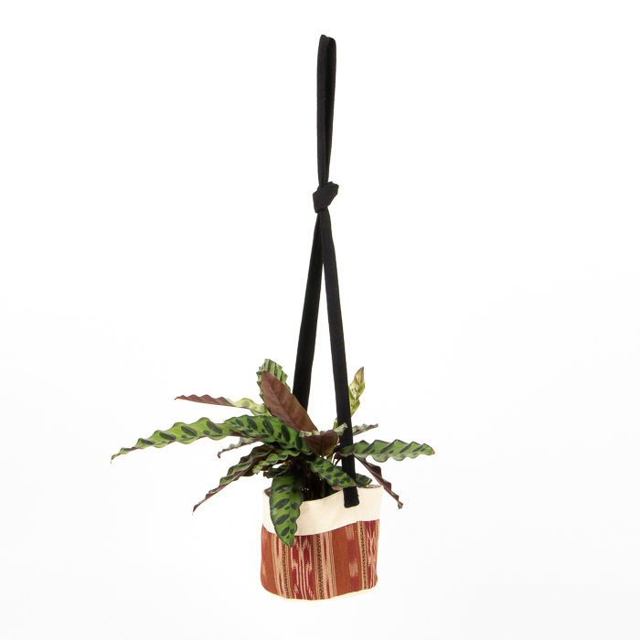 Brown cotton hanging planter | TradeAid