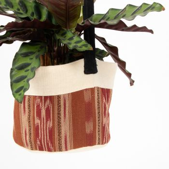 Brown cotton hanging planter | Gallery 1 | TradeAid