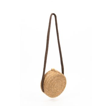 Hogla and jute basket bag | TradeAid