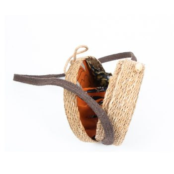 Small natural hogla and jute basket bag | Gallery 1 | TradeAid
