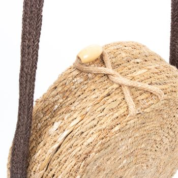 Small natural hogla and jute basket bag | Gallery 2 | TradeAid