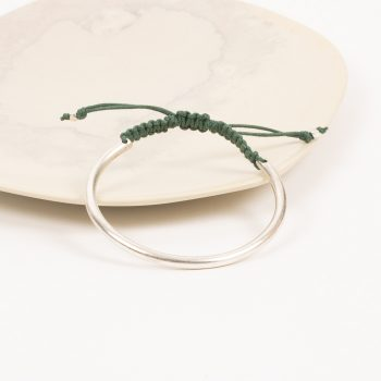 Silver and thread bracelet | Gallery 1 | TradeAid