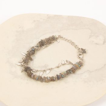Leaf and stone bracelet | TradeAid