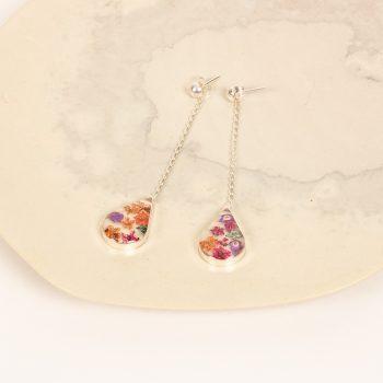 Floral teardrop earrings | Gallery 1 | TradeAid