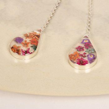 Floral teardrop earrings | Gallery 2 | TradeAid