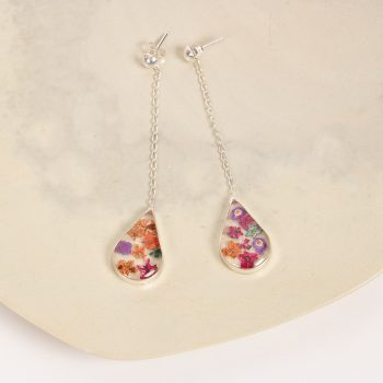 Floral teardrop earrings | TradeAid