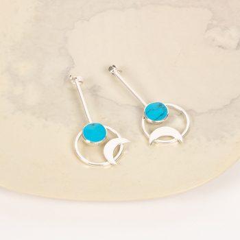 Celestial earrings   TradeAid