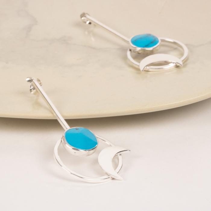 Celestial earrings   Gallery 1   TradeAid