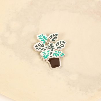 Monstera brooch | TradeAid