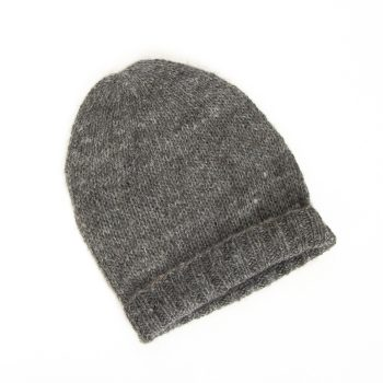 Grey alpaca wool hat | Gallery 2 | TradeAid