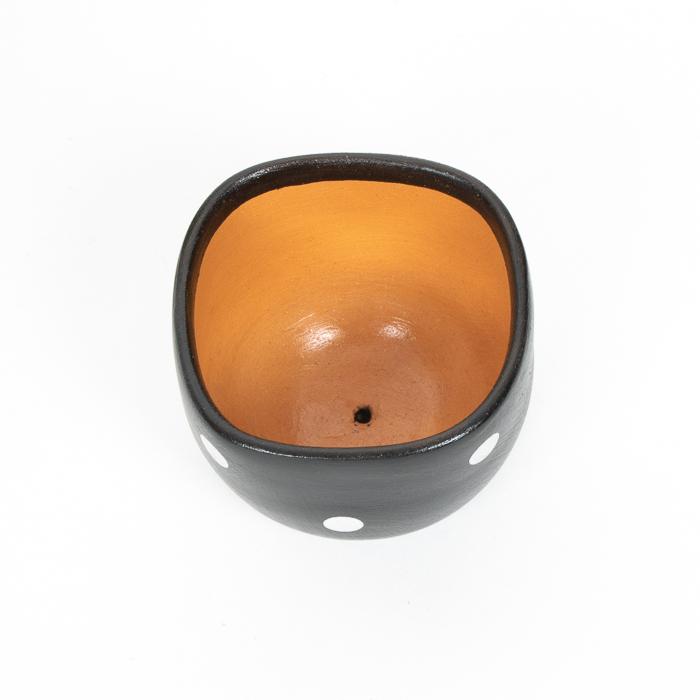 Small black planter pot | Gallery 2 | TradeAid