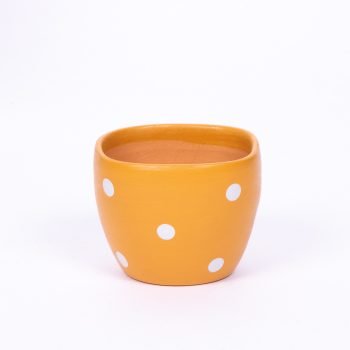 Small yellow planter pot | TradeAid