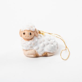 White hanging lamb | TradeAid
