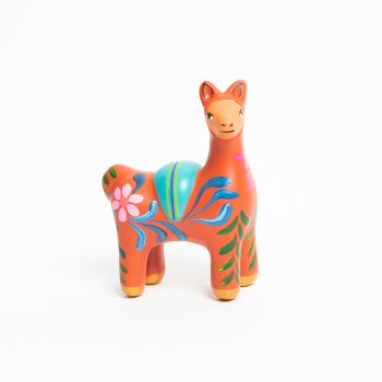 Painted ceramic vicuna | TradeAid