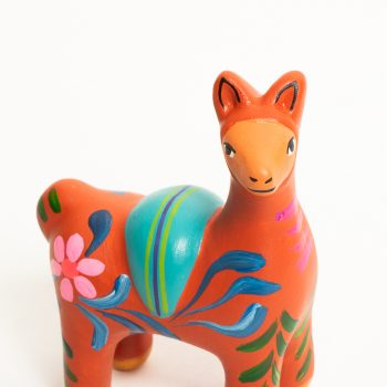 Painted ceramic vicuna | Gallery 1 | TradeAid