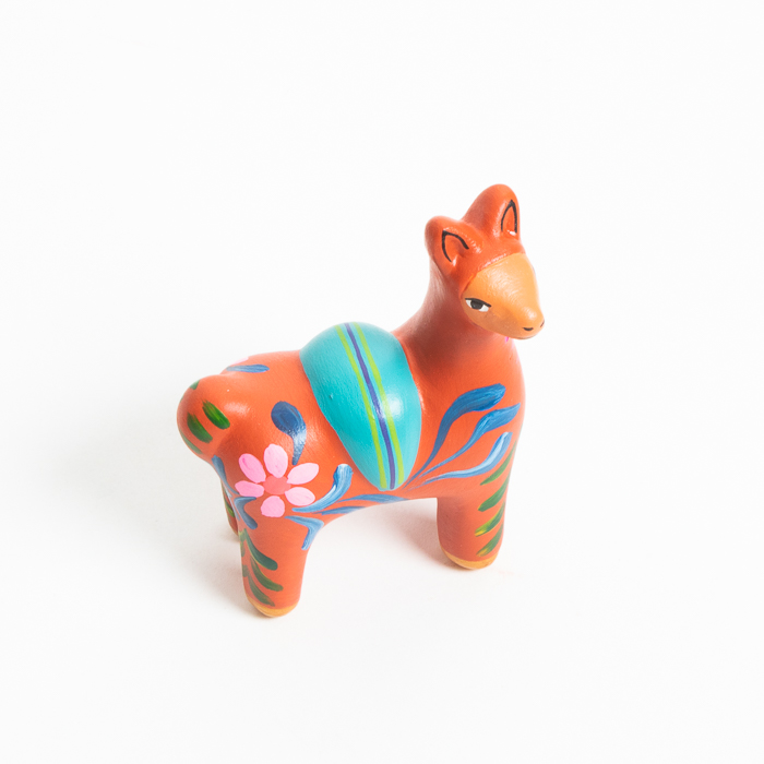 Painted ceramic vicuna | Gallery 2 | TradeAid