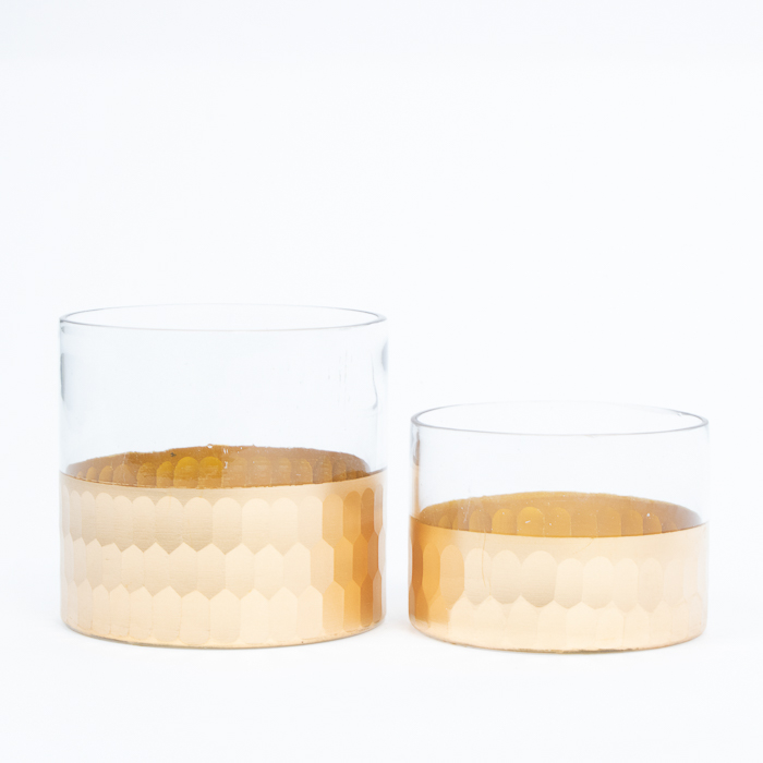 Glass candle holder | Gallery 1 | TradeAid