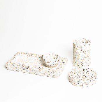 Terrazzo trinket bowl | Gallery 2 | TradeAid