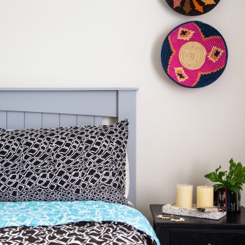 Reversible pillowcase with diamond print | TradeAid