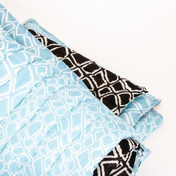 Super king quilt with diamond print | TradeAid