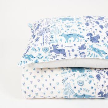 Blue folk land pillowcase | Gallery 2 | TradeAid