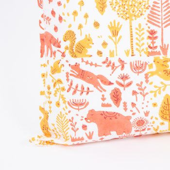 Marigold folk land pillowcase | Gallery 1 | TradeAid