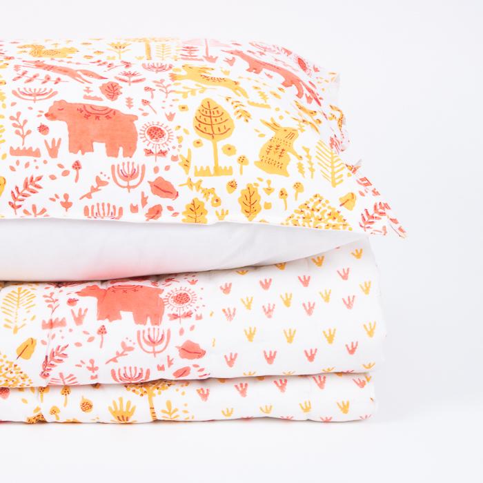 Marigold folk land pillowcase | Gallery 2 | TradeAid