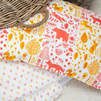 Marigold folk land pillowcase | TradeAid