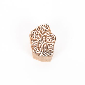 Floral printing block | TradeAid