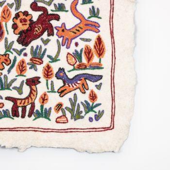 Animal numdha rug | Gallery 1 | TradeAid