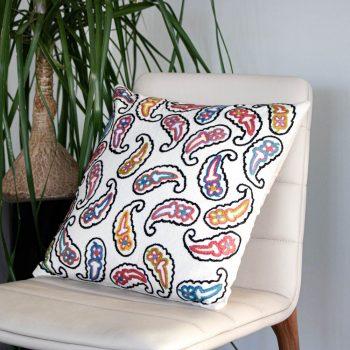 Paisley cushion cover | TradeAid