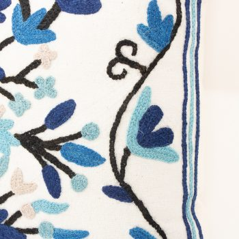 Blue floral cushion cover | Gallery 2 | TradeAid