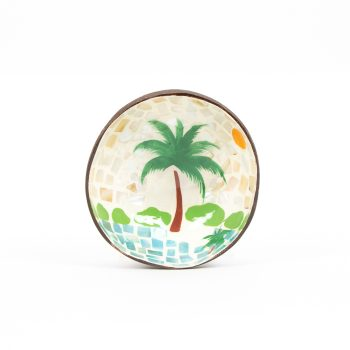 Palm tree coconut bowl | TradeAid