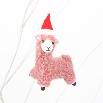 Pink llama decoration | TradeAid