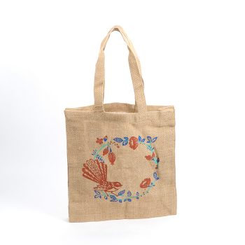 Fantail unlined jute bag | TradeAid