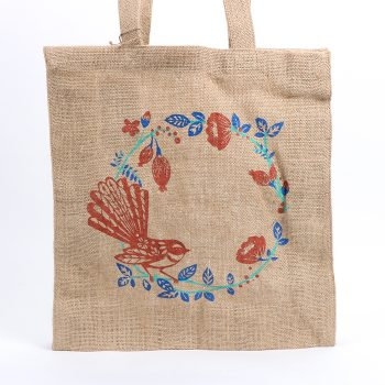 Fantail unlined jute bag | Gallery 2 | TradeAid