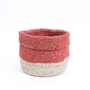 Coral jute basket | TradeAid