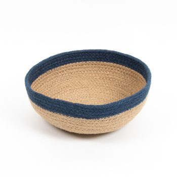 Blue border bowl | TradeAid