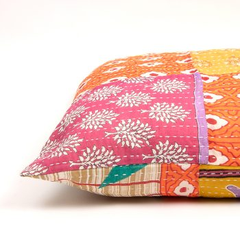 Recycled sari pillowcase | TradeAid